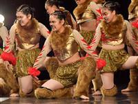 【日本高校ダンス部選手権】千葉県立四街道 力強い演技で魅了