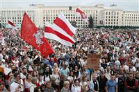 露外相、ベラルーシ情勢で欧米批判「地政学だけに興味」
