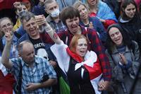 ベラルーシ市民支援を表明、EUが緊急首脳会議