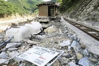 豪雨被災の鉄道復旧は前途多難 利用者減の不採算路線も