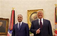 「ある時点で米軍撤収」 イラク首相との会談でトランプ氏