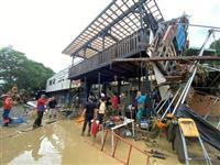 豪雨で救助・復興尽力のラフティング会社がCF募集