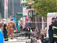 西成「あいりん地区」で火災 2人死亡1人けが