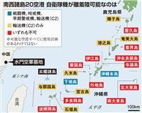 南西諸島防衛、空港足りぬ…9割が戦闘機「×」 下地島は県が認めず