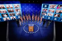 【米大統領選】民主党大会、オンラインでテレビ離れか 視聴者数、全日程で前回下回る