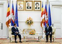 日カンボジア、入国制限緩和へ交渉促進 茂木外相が首相と会談