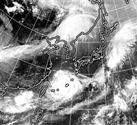 強い台風8号、奄美に接近 発達しながら北上
