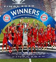 Bミュンヘンが欧州CLで6度目V 「3冠」達成
