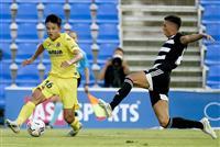 ビリャレアル久保がトップ下でプレー 移籍後初実戦