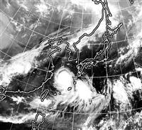 台風8号、東シナ海を北上 九州中心にしけや強風
