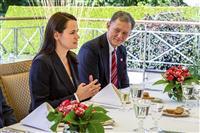 ビーガン米国務副長官、ベラルーシの民主派候補と会談