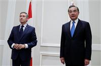中国外相、カナダ外相に華為幹部の早期帰国求める