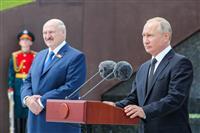 露、ベラルーシに治安部隊派遣を準備 暴動など「一定条件下で」