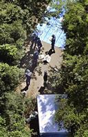 広島の山中に遺体、不明の40代男性か 薬物事件で逮捕の男「捨てた」と供述