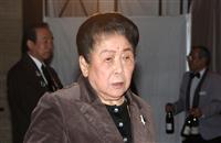 """内海桂子さん死去 女性漫才第一人者、""""現役最高齢芸人"""""""