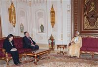米国務長官とオマーン国王が会談 イスラエル正常化協議か