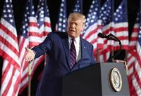「バイデン政権なら中国が支配」 演説でトランプ大統領主張