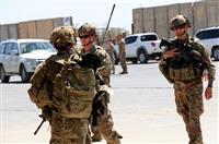 駐イラク米軍 3500人に縮小へ 米紙報道