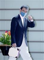 【総裁選ドキュメント】河野氏、進次郎氏の「支援」に「ありがたい」