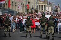 露、ベラルーシ首脳会談へ 続く大規模デモ 「選挙は正当」と支援用意