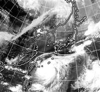 台風9号、沖縄最接近へ 猛烈な風に厳重警戒を