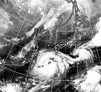 台風9号が沖縄最接近 猛烈な風に厳重警戒を