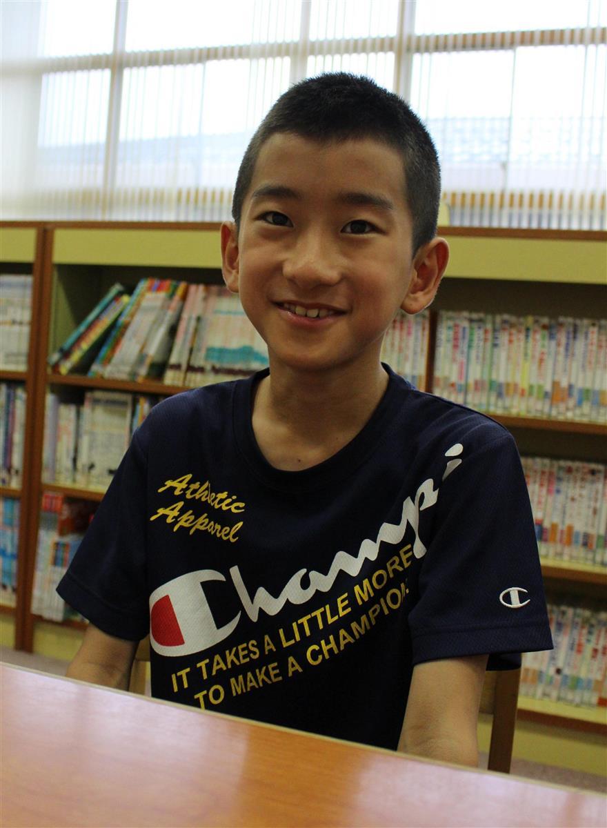「十二支は大変です」で文学賞 夢は小説家 小学6年生の梶田向…