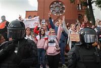 3週連続で大規模デモ ベラルーシ、選挙不正抗議