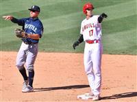大谷が今季初めての代打、苦手左腕からしぶとく安打