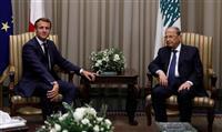 仏大統領 レバノンに改革断行迫る 指導層に制裁も
