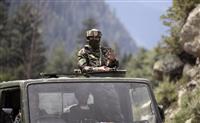 「中国軍が再び挑発」とインド