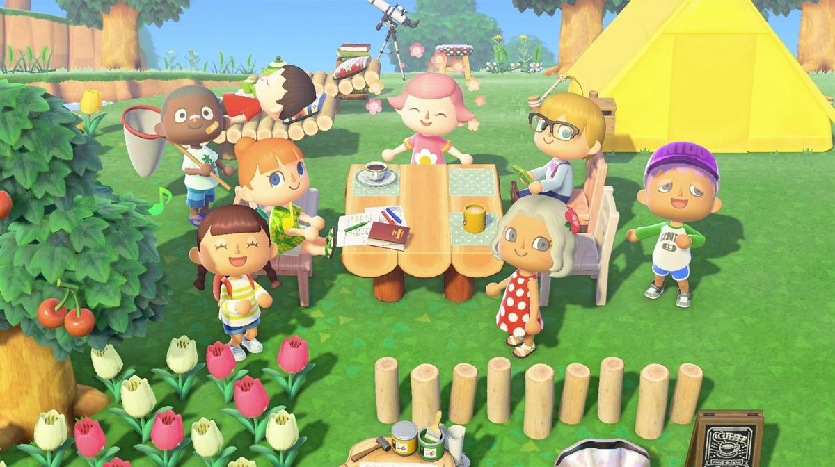 ニンテンドースイッチ用ゲームソフト「あつまれ どうぶつの森」の画面(c)2020 Nintendo
