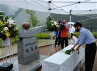 奈良でも犠牲者しのび献花 紀伊半島豪雨9年