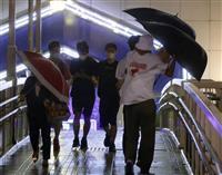 強風で転倒、負傷相次ぐ 台風9号通過の九州3県