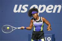 大坂、3年連続で16強 全米テニス
