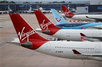 英航空の従業員半数に ヴァージン、追加リストラ