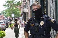 米警官の死因はコロナがトップ 銃撃や事故を上回る