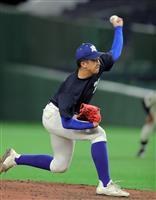 健大高崎・下投手「得意のスライダー投げた」 高校生合同練習会
