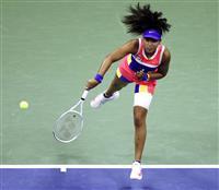 大坂「攻め続け」て2年ぶり8強 全米テニス