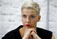 ベラルーシで反体制派の幹部拘束か デモ主導「女性3人組」の一角