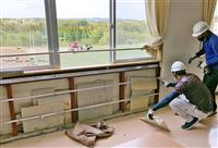 前田建設、石膏板残置認める 校舎壁内に廃棄問題
