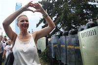 ベラルーシ 反政権派の女性幹部を拘束