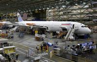 787に製造上の問題発覚 ボーイング、引き渡し遅れ