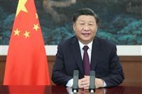 中国の習近平氏が金正恩氏に祝電 北朝鮮の建国72年