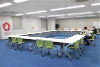 万博協会が大阪市中心部に新オフィス 「プロデューサー」が作業に使用