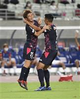 C大阪、奥埜がチームのJ1通算千ゴール