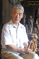 元刑事、慰霊の木像2万体彫り続け 東日本大震災から9年半