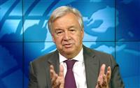 国連事務総長、広島訪問に意欲 「世界は被爆者に借り」