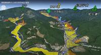 上空から地図と動画で土砂災害警戒区域 和歌山県が公開