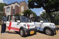 超小型電気自動車で快適観光 たつの市が実証実験